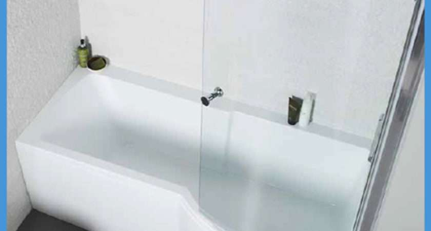Left Right Hand Shaped Shower Bath Screen