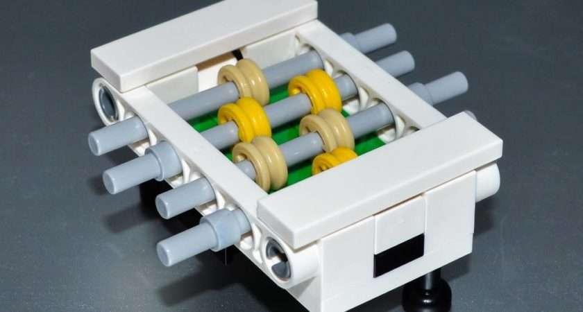 Lego Furniture Foosball Table Custom Set Parts