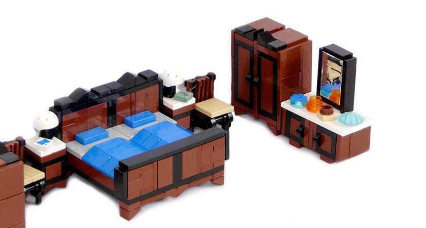 Lego Ideas Product Minifig Furniture Bedroom