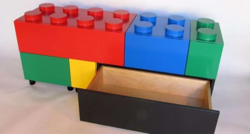 Lego Inspired Furniture Decor Hacks