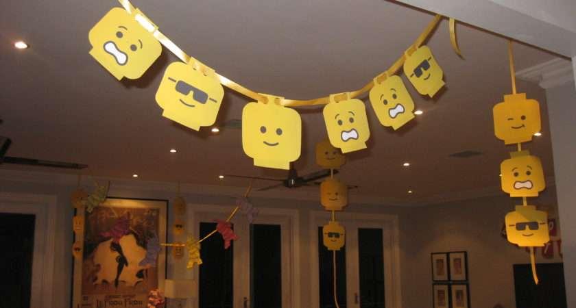 Lego Party Decorations Ideas Pinterest