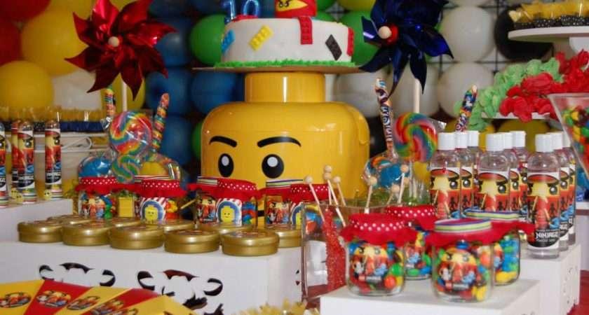 Lego Table Decorations Love Legos Pinterest