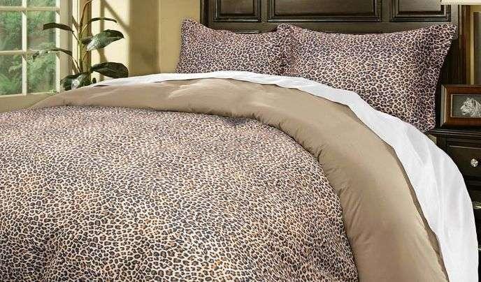 Leopard Print Bedding