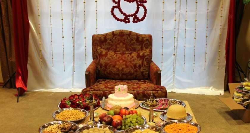 Let Make Lovely Sreemantham Decoration South Indian