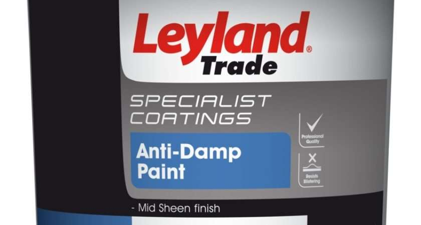 Leyland Trade Anti Damp Paint Stax Centres