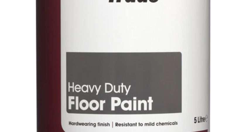 Leyland Trade Floor Paint Slate Toolstation