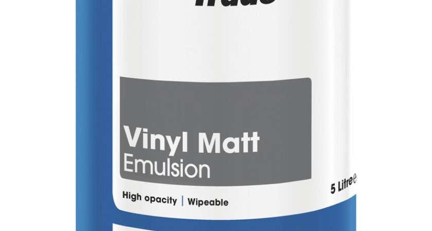 Leyland Trade Vinyl Matt Emulsion Paint Magnolia