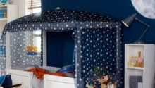 Lifetime Combination Bed Optional Blue Canopy