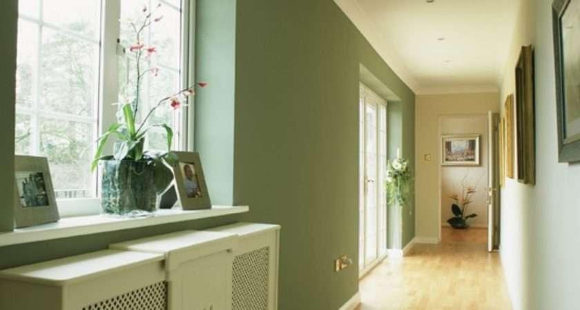 Light Airy Long Hallway Colour Schemes