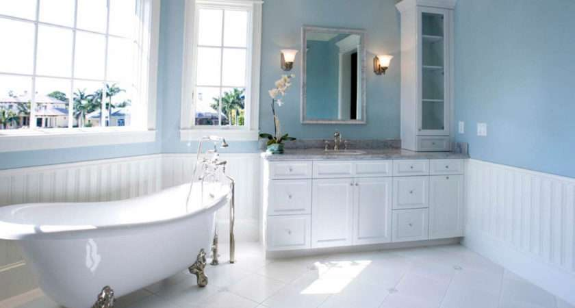 Light Blue Bathroom Ideas Consists Some Elements