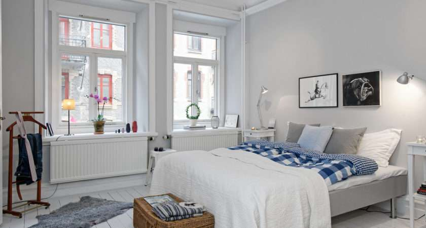 Light Bright Truly Swedish Bedroom Interior Design