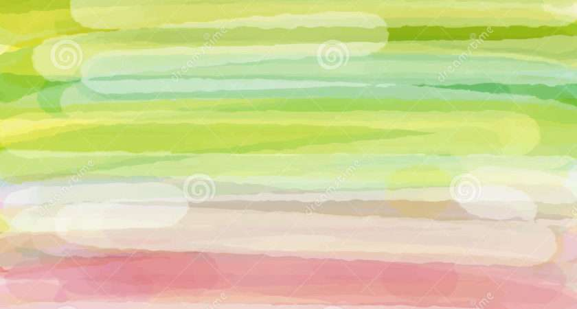 Light Green Yellow Pink Love Pastel