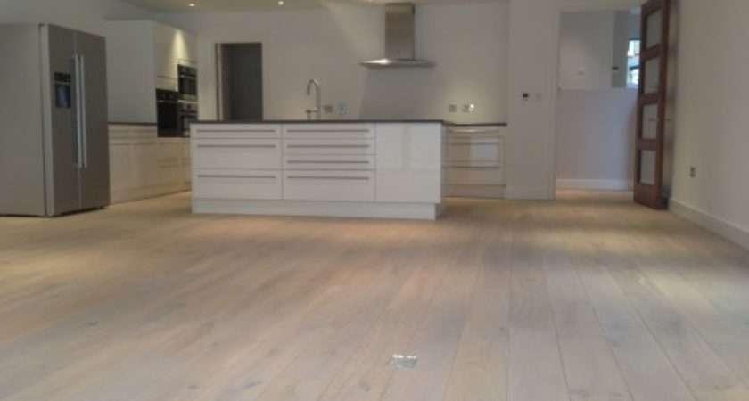 Light Grey Engineered Wood Flooring Wooden Floor