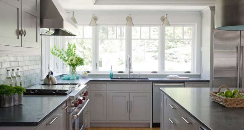 Light Grey Kitchen Cabinets Contemporary Kristina