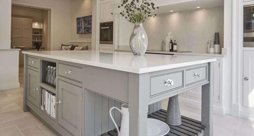 Light Grey Shaker Kitchen Design Decoration