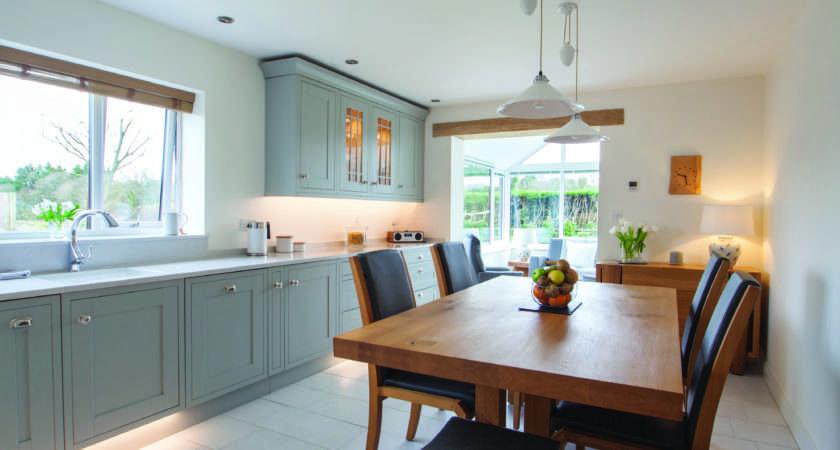 Light Grey Shaker Kitchen Design Herbert William
