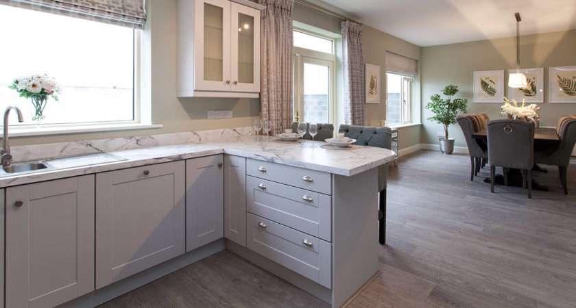 Light Grey Shaker Kitchen Home Design