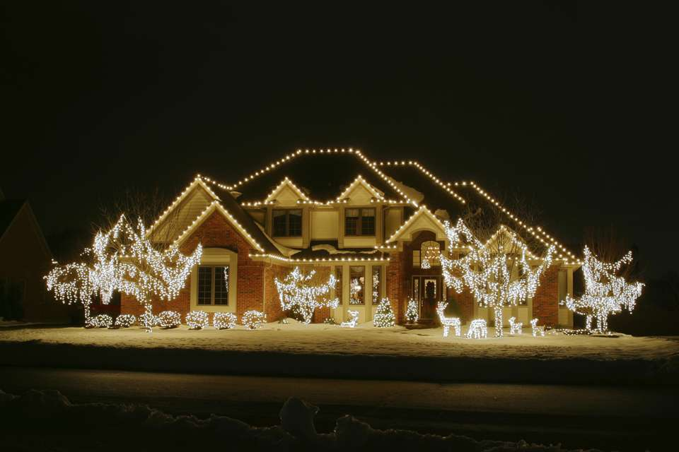Lights Home Outdoor Ideas Decoration Design Christmas