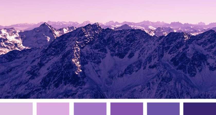 Lilac Indigo Pretty Color Scheme