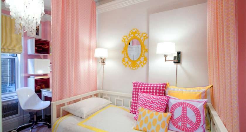 Lily Design Created Fun Hip Girls Room Found Via Here