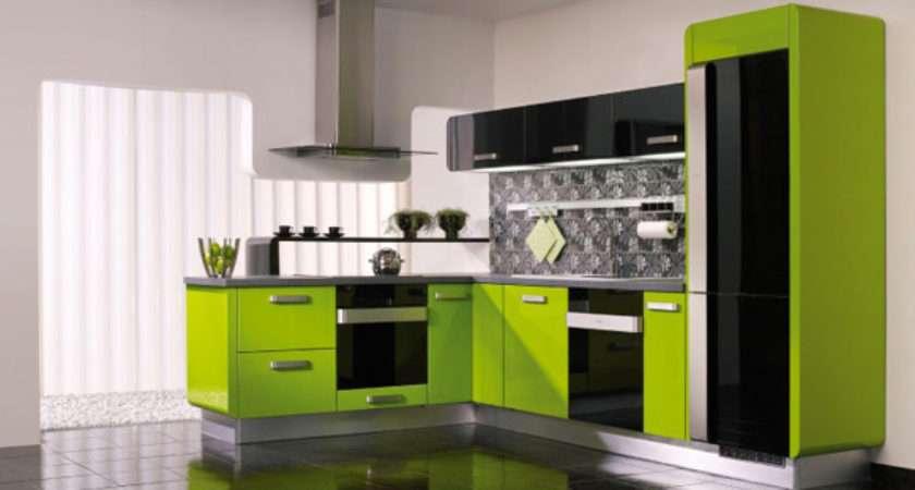 Lime Green Kitchen Design Ideas
