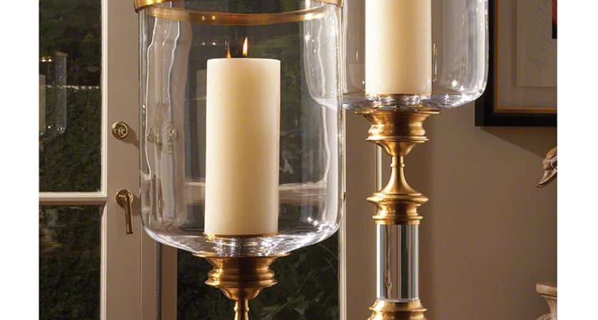 Limited Production Design Tall Classic Antique Brass