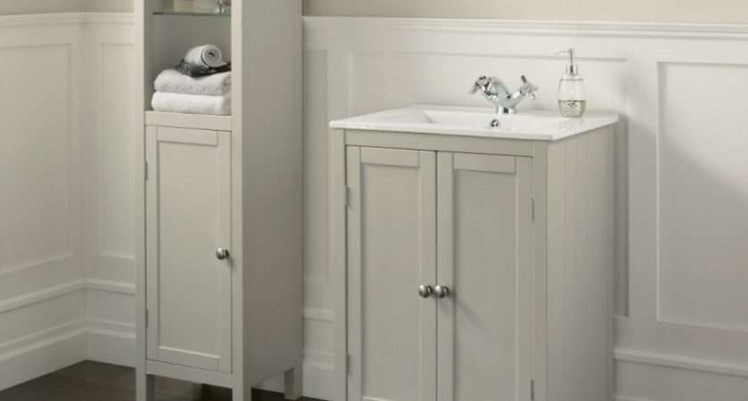 Linea Etienne Cupboard Vanity Unit Basin Tall