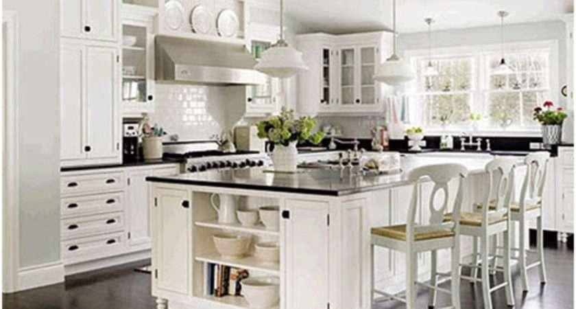 Little Inspirations Glamorous White Kitchens