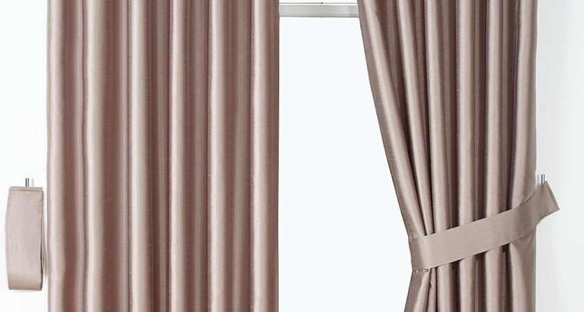 Littlewoods Woburn Chenille Faux Silk Eyelet Curtains