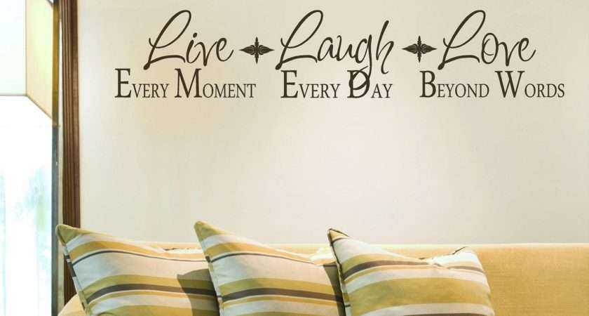 Live Laugh Love Home Decor Wall Dcor