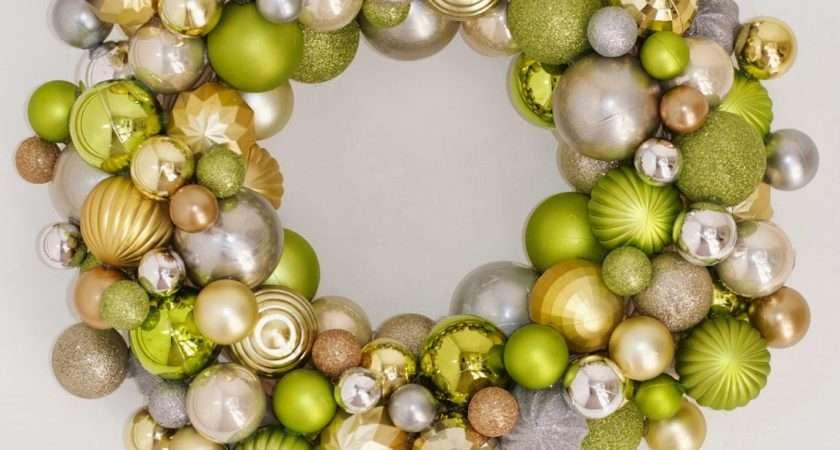 Livelovediy Make Christmas Ornament Wreath
