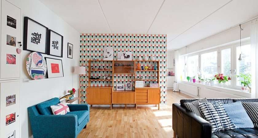 Living Room Border Ideas