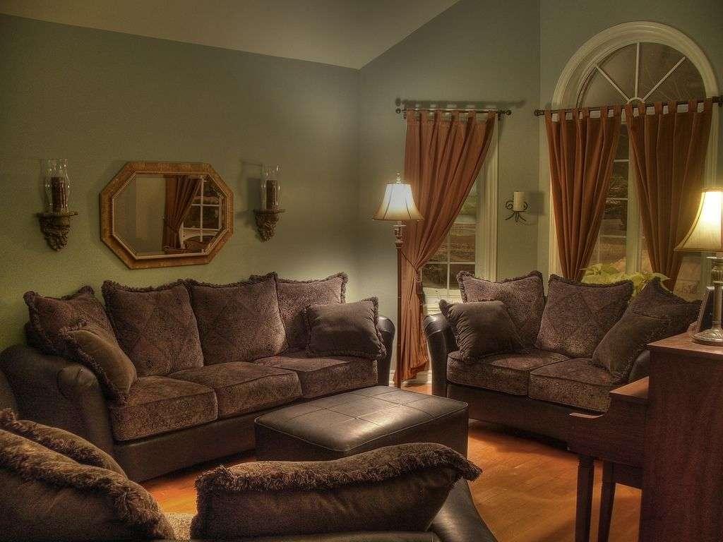 Living Room Color Ideas Dark Brown Furniture Interiordecodir