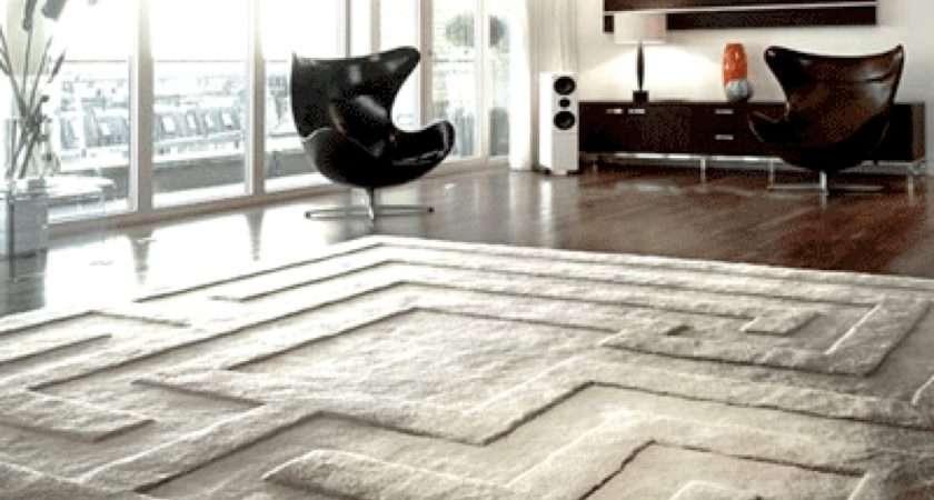 Living Room Contemporary Decorating Ideas Rug