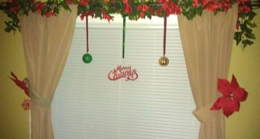 Living Room Curtain Christmas Joy Pinterest
