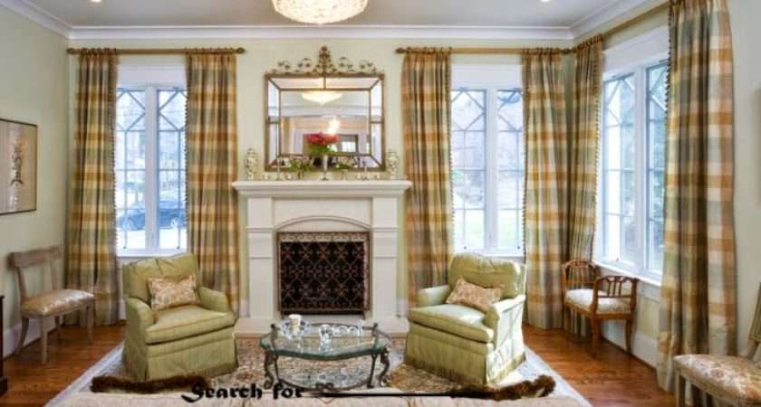 Living Room Curtain Styles Colors Window Treatments Curtains