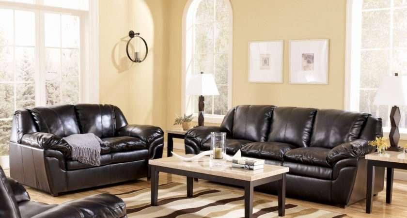 Living Room Decorating Ideas Black Leather Furniture