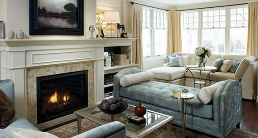 Living Room Fireplace Decorating Ideas Creative