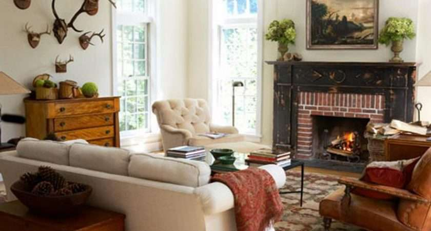 Living Room Fireplace Decorating Ideas Rustic