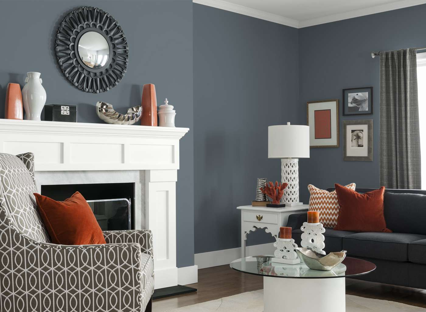 Living Room French Grey Rooms Color