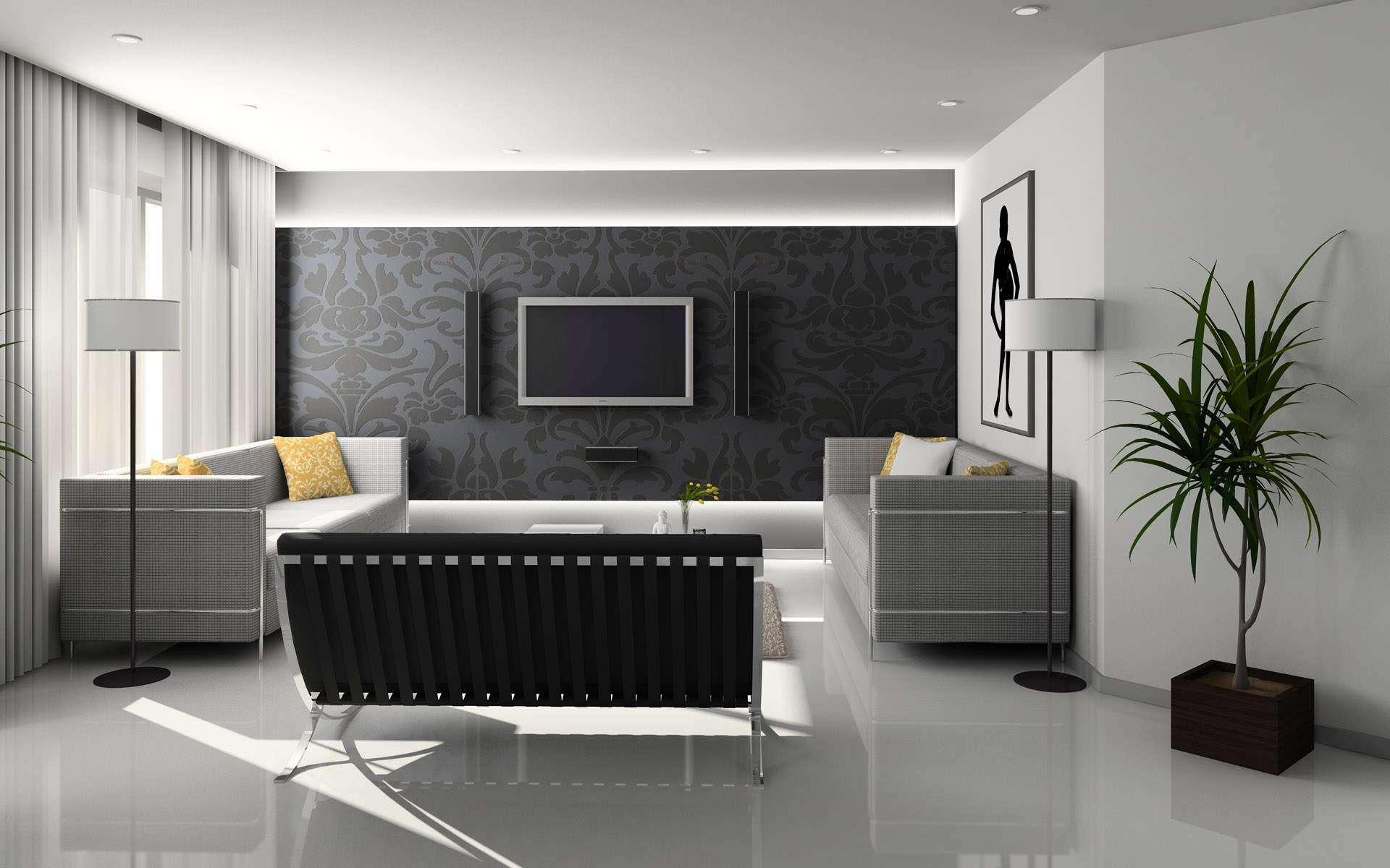 Living Room Home Design Interior Ideas Stylish