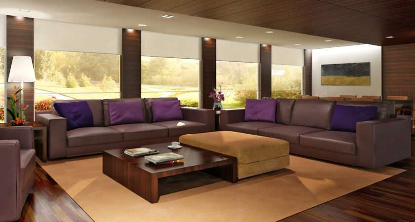 Living Room Ideas Brown Leather Sofa Contemporary