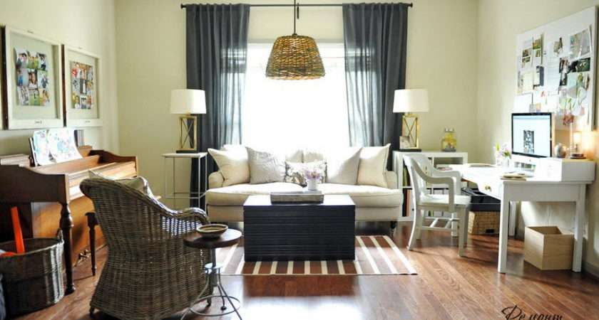 Living Room Ideas Simple Desk