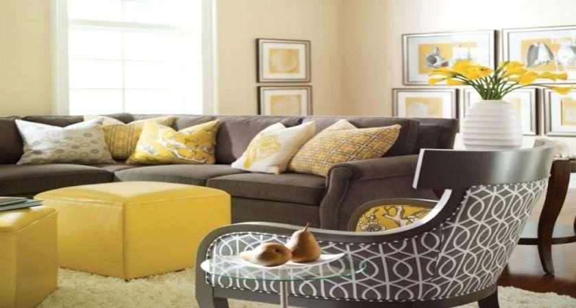Living Room Ideas Yellow Grey