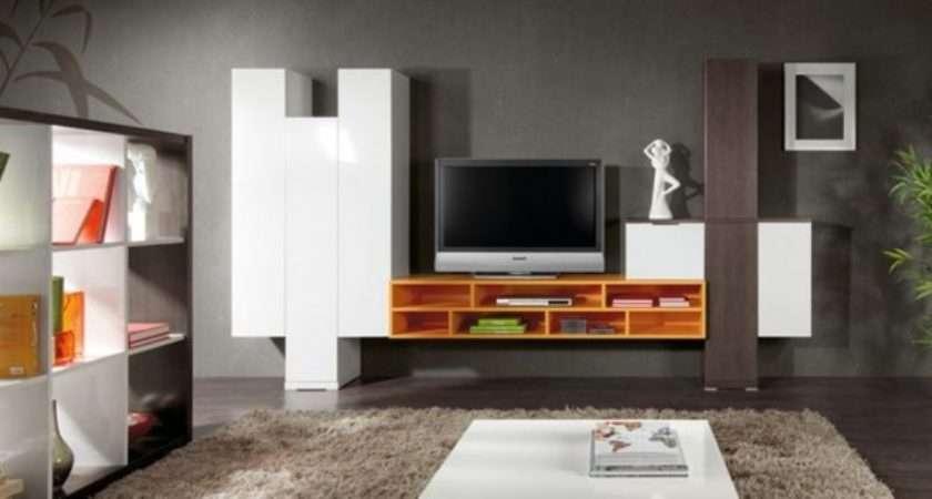 Living Room Lcd Cabinets Shelves Design Ideas