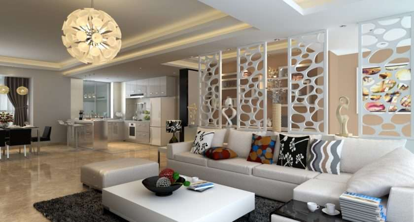 Living Room Luxury Large Space Modern Design