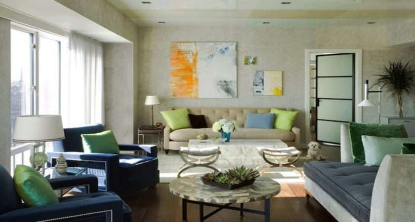 Living Room Mint Green Duck Egg Blue Pillows Cream Sofa