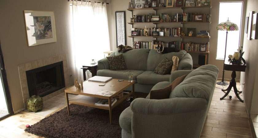 Living Room Still Getting Settled But New