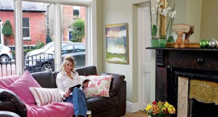 Living Room Take Tour Around Edwardian House