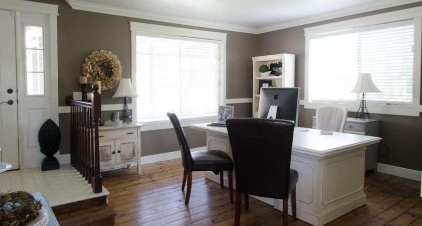 Living Room Turned Office Start Home Decor